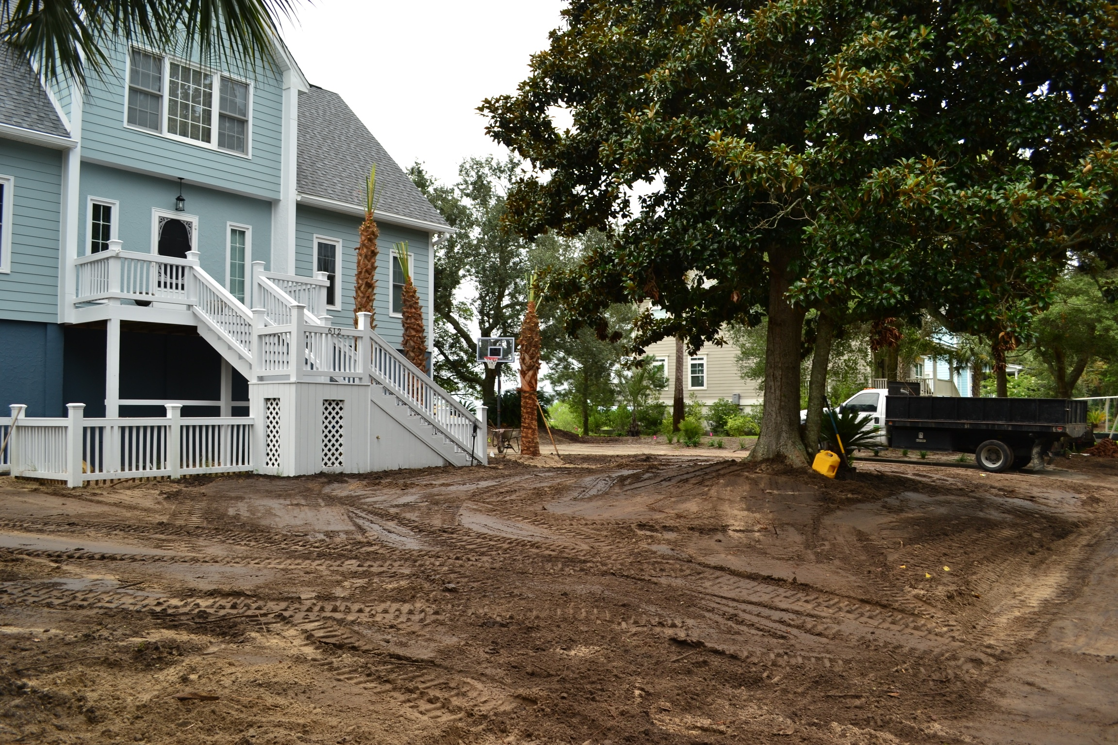 Grading & Clearing - New constructionRe-gradingBrush removalStump removal
