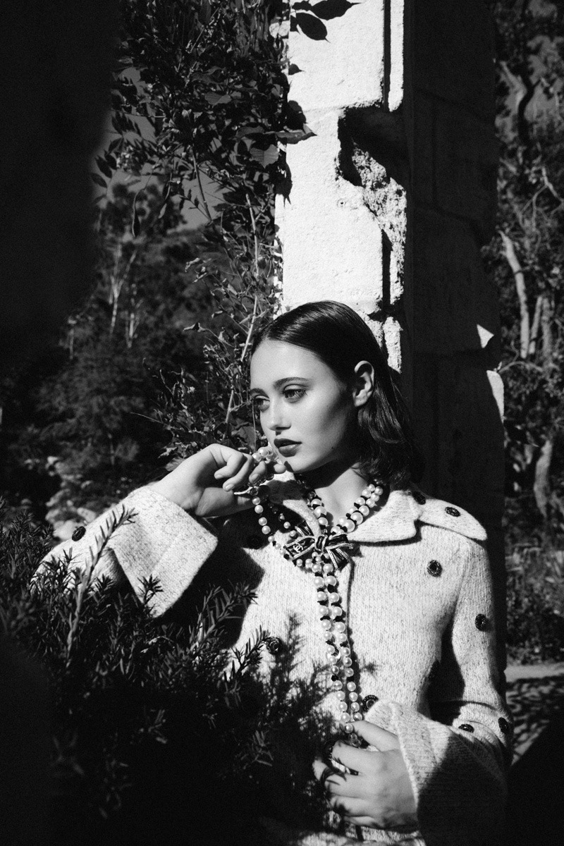Ella Purnell - Malibu Magazine