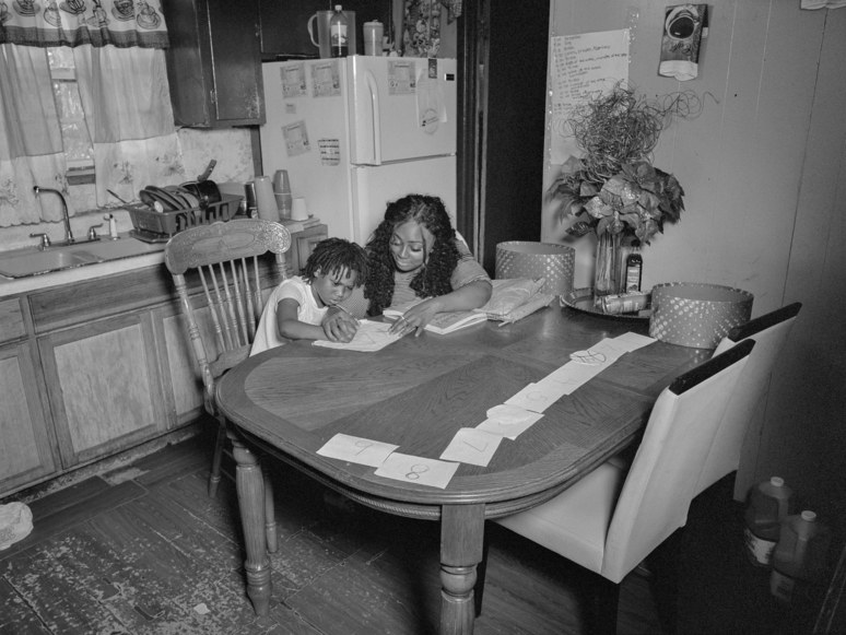 In the past fifteen years, the number of black families in the country who homeschool their children—often to protect them from being characterized as troublemakers or sent to special-education programs—has more than doubled.   Photograph by LaToya Ruby Frazier for The New Yorker