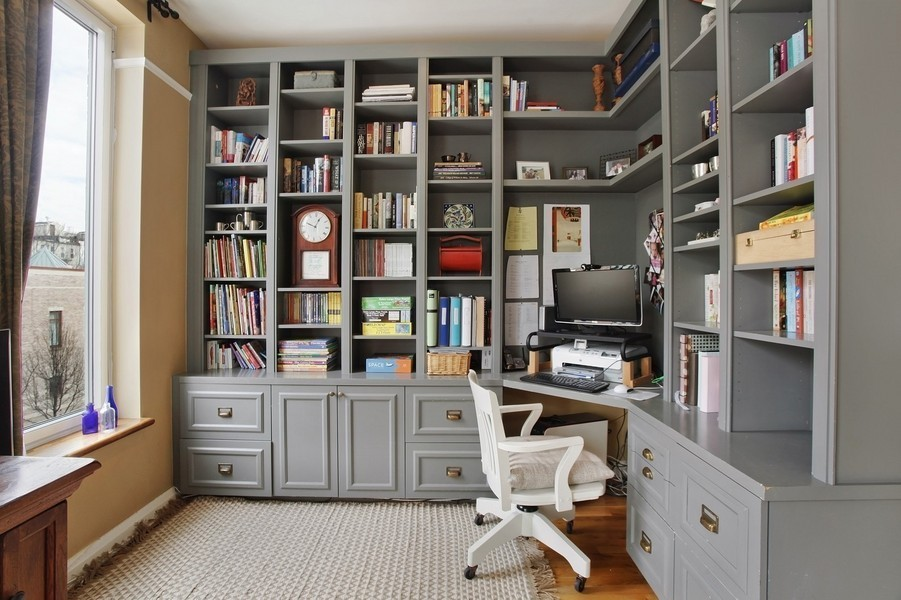 custom home office design