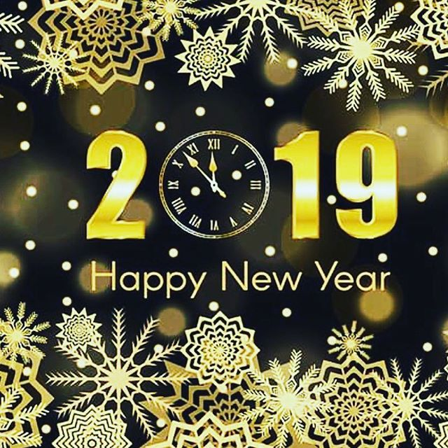 Happy New Year! May 2019 be productive, positive, and plentiful! #happynewyear