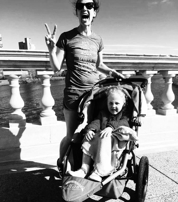 Last day of marathon training, 2016.