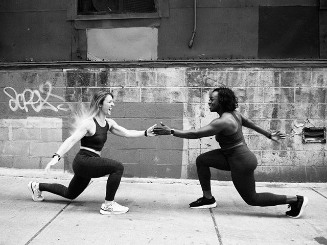 These two. Muscles of steel and hearts of gold. These @bespokestudios instructors will blow your mind over 45 minutes on the bike. But… did you know? Their commitment to community and charity are unmatched—Deja is a member of @flagflagboston, Boston's flag football league for the #LGBTQ community aimed to break barriers and create a supportive environment for all athletes. @cmooch is a very active ALS Advocate for @alstdi, organizing charity rides at @bspokestudios, educating her peers through social media and #strikeoutALS events, and always wanting to do more for her community.