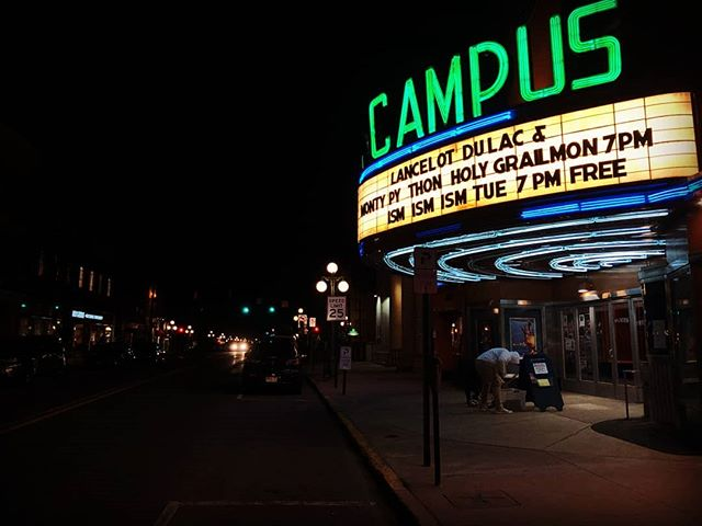 Recycled Cinema program screens tonight at @bucknellu Curator Luciano Piazza in attendance. More info at https://www.ismismism.org/calendar/2019/4/2/recycled-cinema-at-bucknell-university @lafilmforum  #bucknelluniversity #lafilmforum #ismismism #campustheater #experimentalcinema #cineexperimental