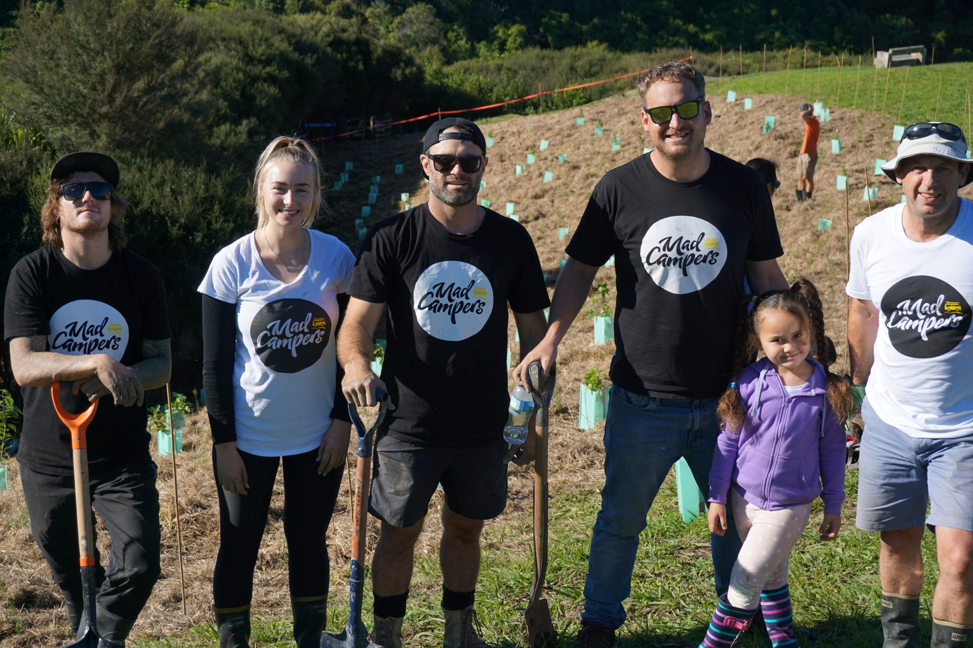 Mad Campers Conservation in Auckland!