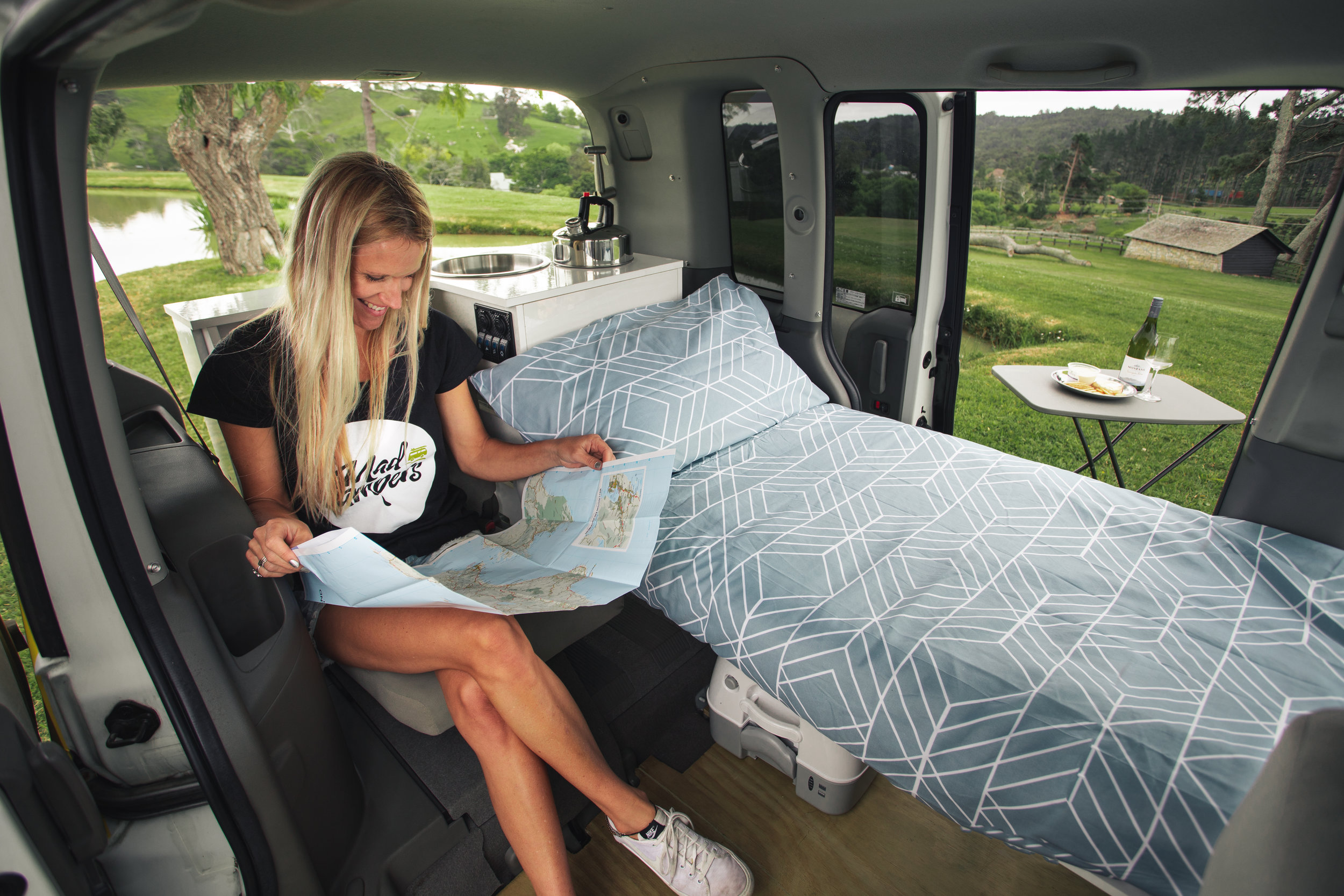 One person campervan Mad Campers