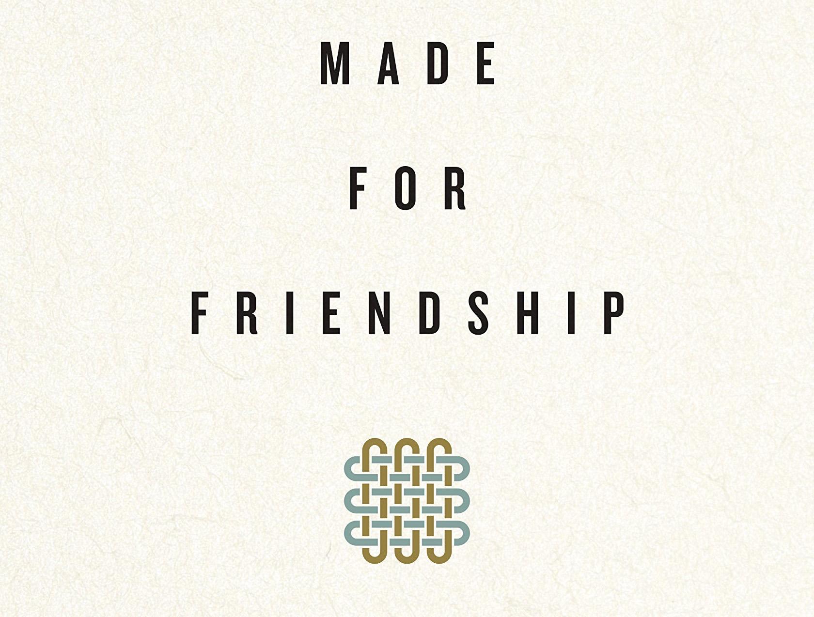 Made for Friendship - Drew Hunter