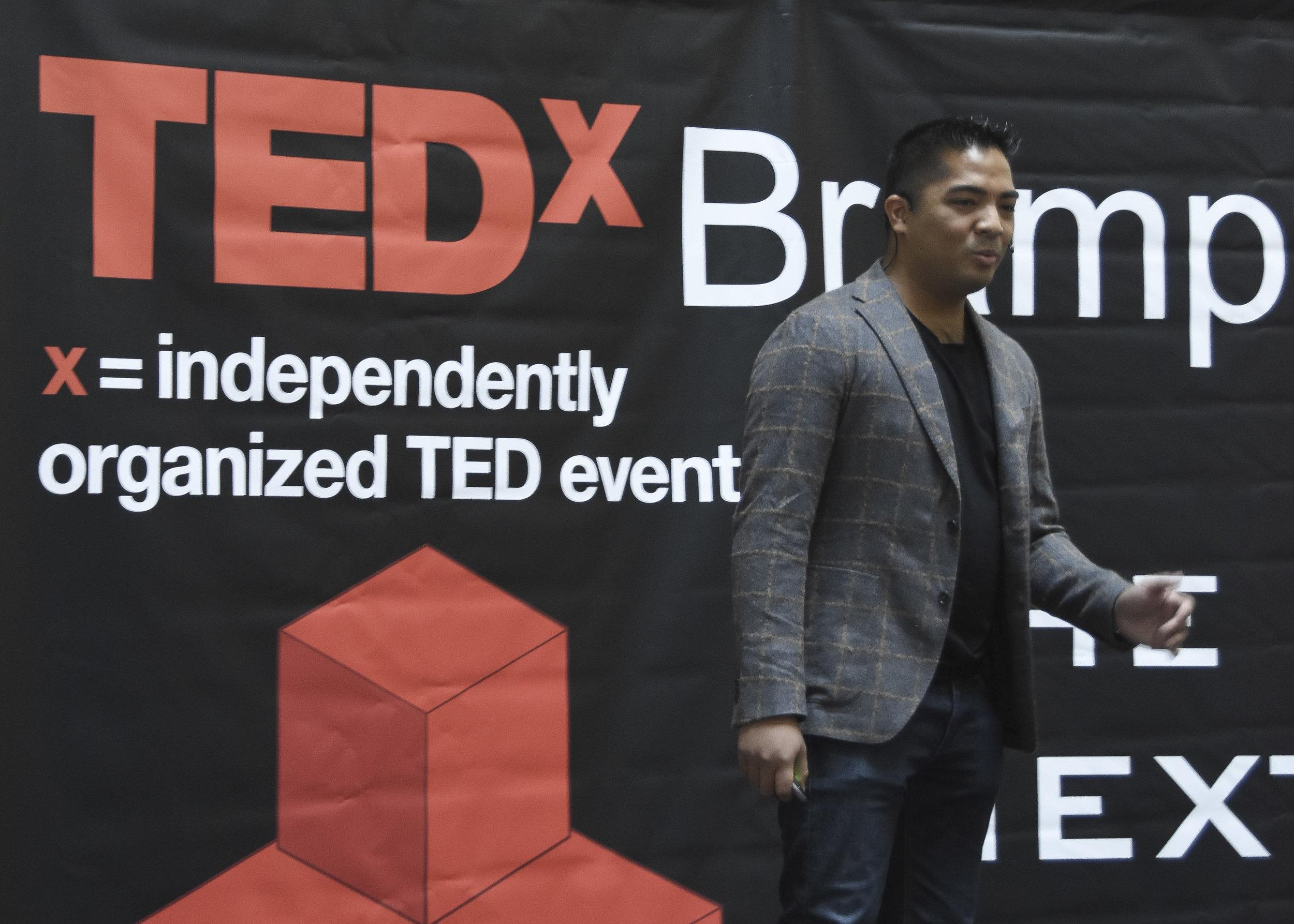 Lorenzo Escobal TEDxBrampton-1