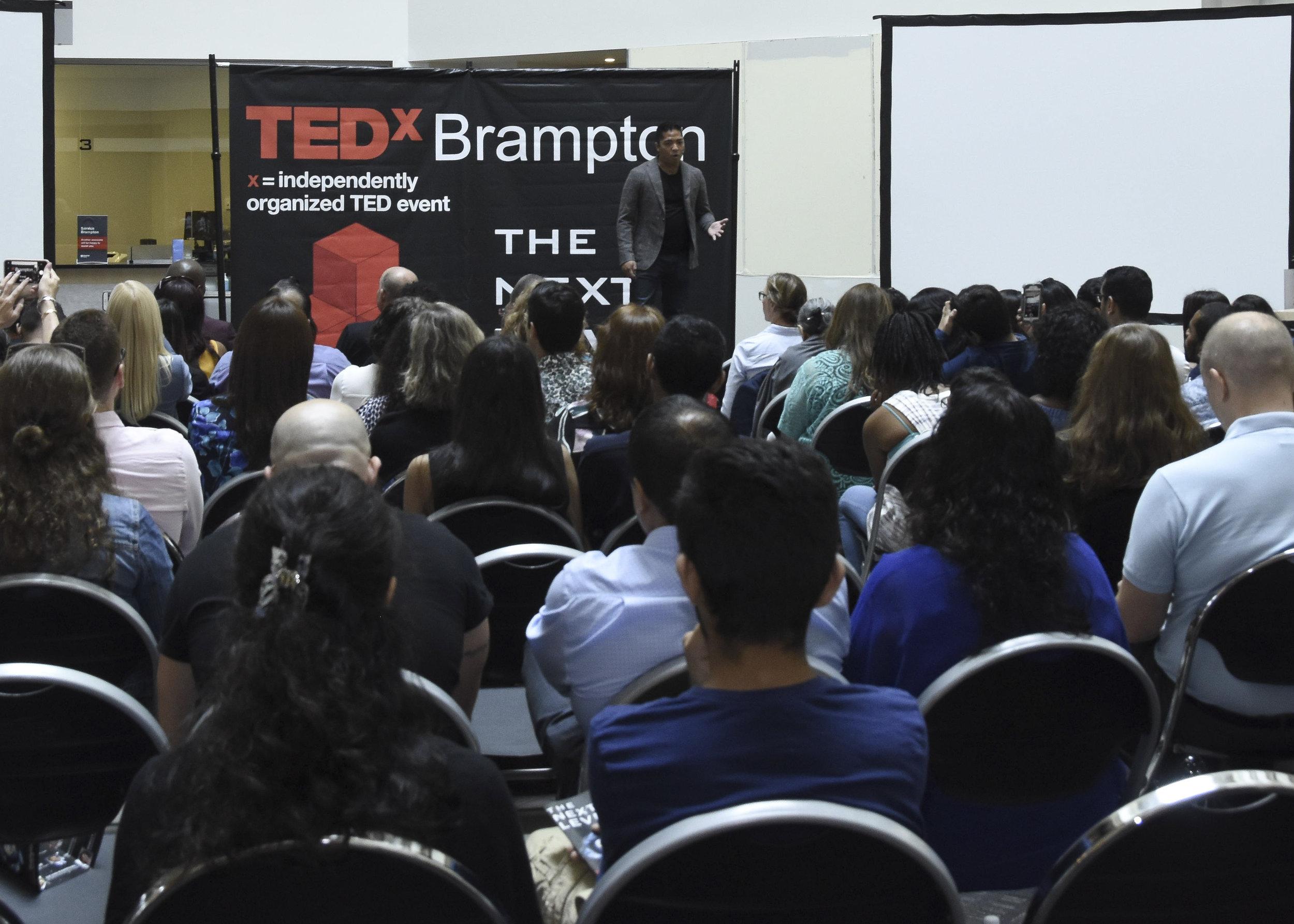 Lorenzo Escobal TEDxBrampton-2