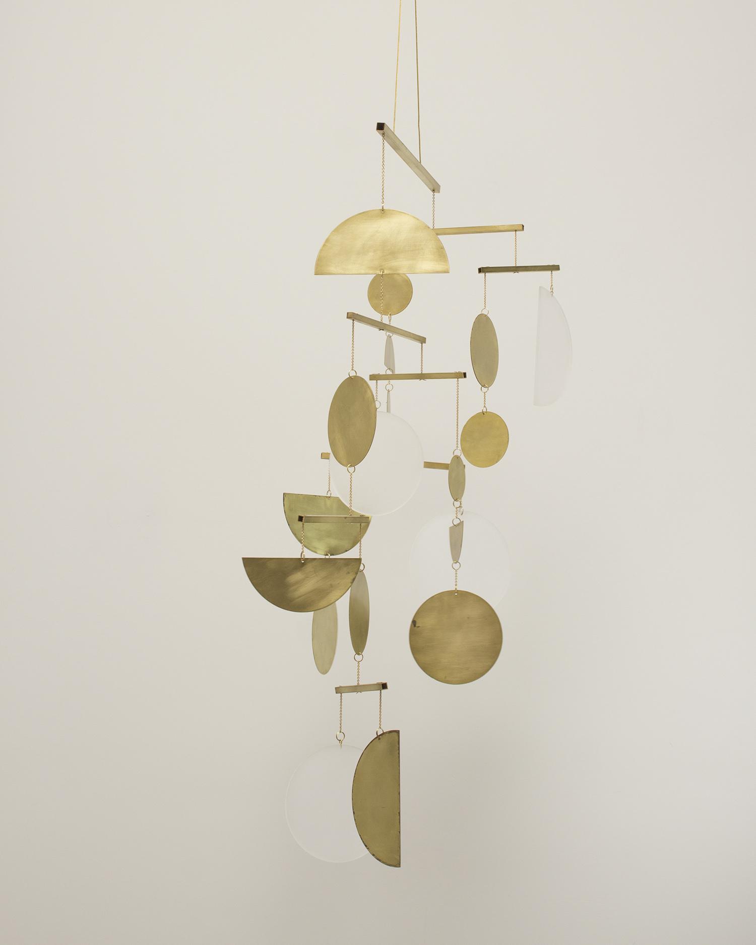 Kinetic Brass Mobile