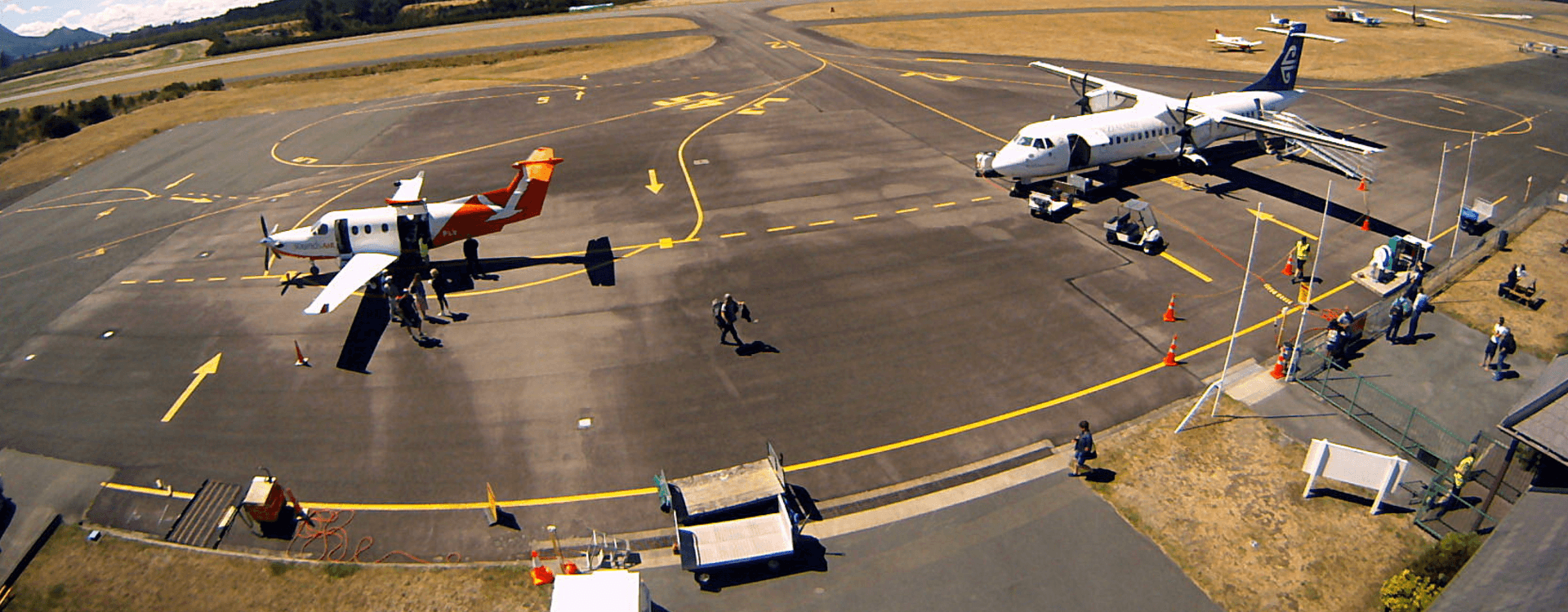 WAIKATO - Taupō Airport brings tourists and business to the Waikato region