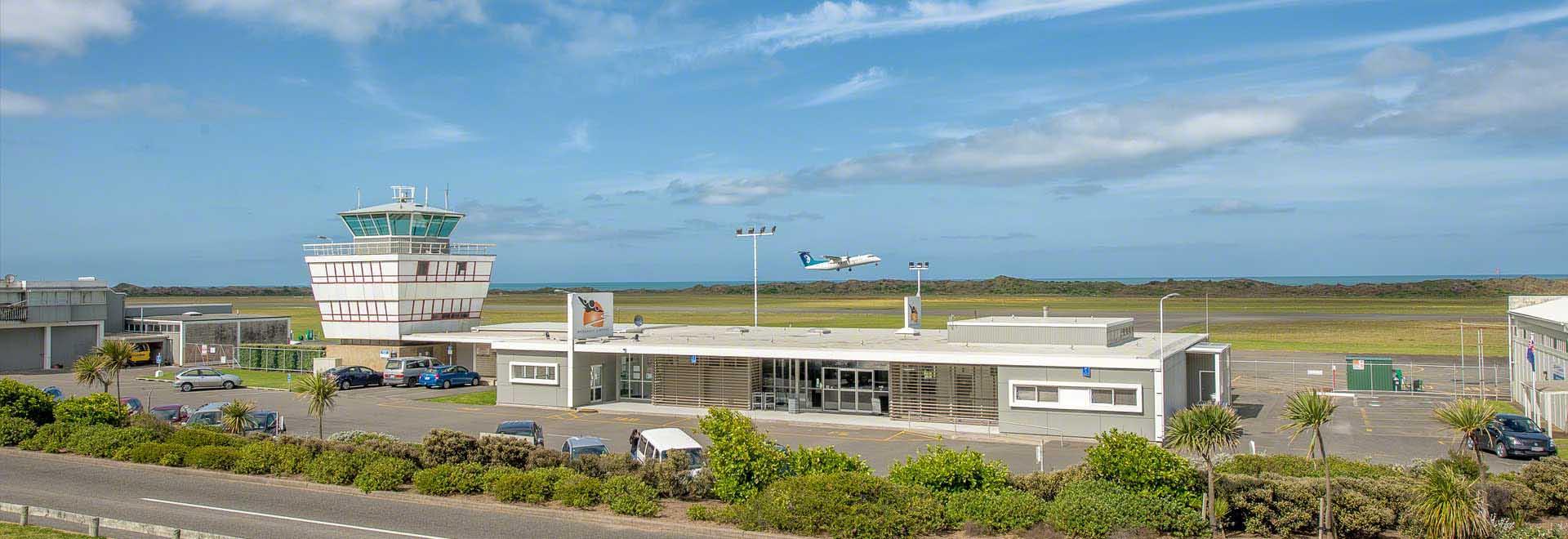 MANAWATU-WANGANUI - Whanganui airport is a crucial hub for the Manawatu-Wanganui region
