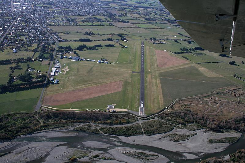 WELLINGTON - Hood Aerodrome in Masterton has a narrower runway than our proposed national standard, and needs new runway lights.