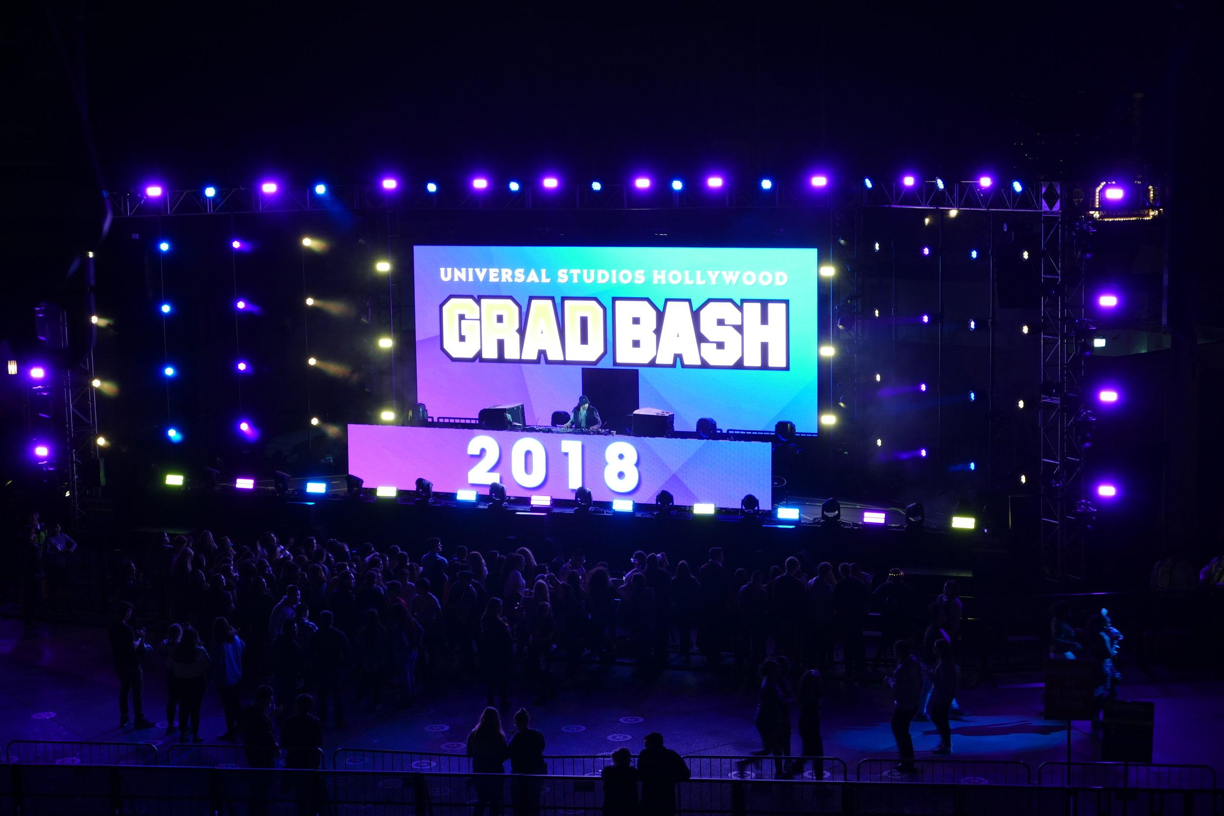 Grad Bash 2018 - Universal Studios Hollywood