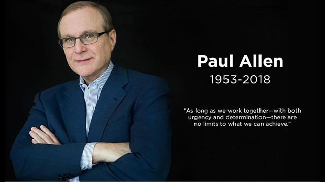 R.I.P. Paul Allen. Success comes in many forms and Paul had surely accomplished many of those. In the end, make sure you are living your best life, as time runs out for us all. #thehuntforsuccesspodcast