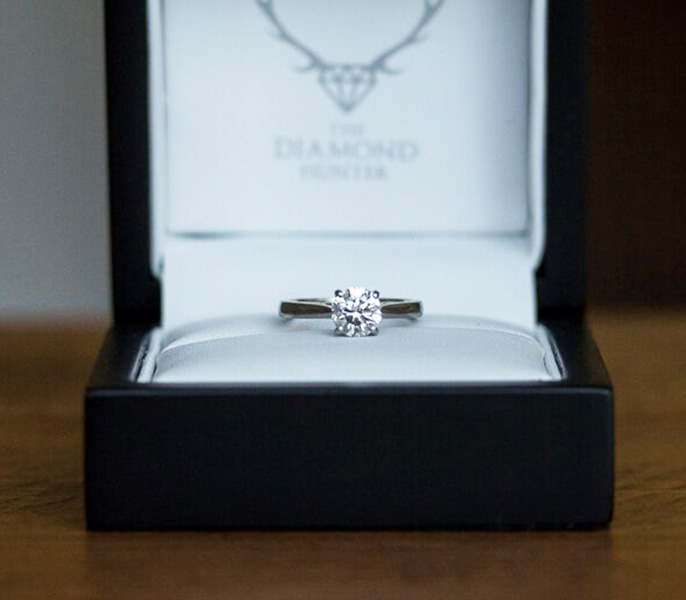 Engagement rings delivered to your door