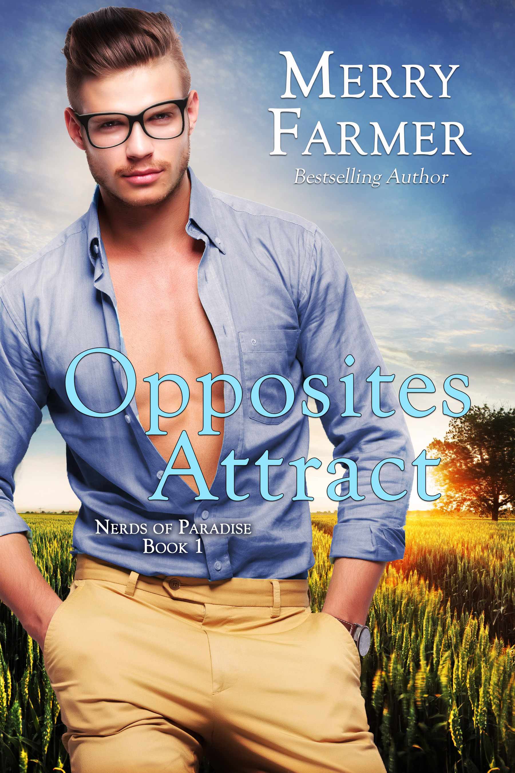 Opposites Attract (Book 1) - Haskell, Wyoming has a rich and vibrant history, dating back to the Old West. But with the opening of Paradise Space Flight, an aeronautics company and brain-child of Howard Franklin Haskell IV, the entire town is looking to the future. All except cowgirl, Casey Flint. Daughter of one of the original Paradise Ranch families, Casey is reeling from all of the change in her hometown. Even more so when project manager Scott Martin moves into town and turns her world upside down.Scott is more than ready to embrace the quieter pace of life that Haskell represents while helping a new and exciting company to launch…in more ways than one. His life gets even better when he meets and falls hard for local girl, Casey. But Casey proves to be more of a challenge than he anticipated when she seeks to block his efforts to buy land from her father. Scott and Casey rub each other the wrong way, but the sparks they create are irresistible.But just as the two rivals are tempted to give in to attraction, the infamous Bonneville family causes trouble for both Scott and Casey's family. When they threaten to buy out Casey's family's ranch, everyone's futures are in jeopardy. Hearts are on the line as the cowgirl and the engineer must work together to preserve the past and protect the future.PLEASE BE ADVISED: Steam Level – Very Hot