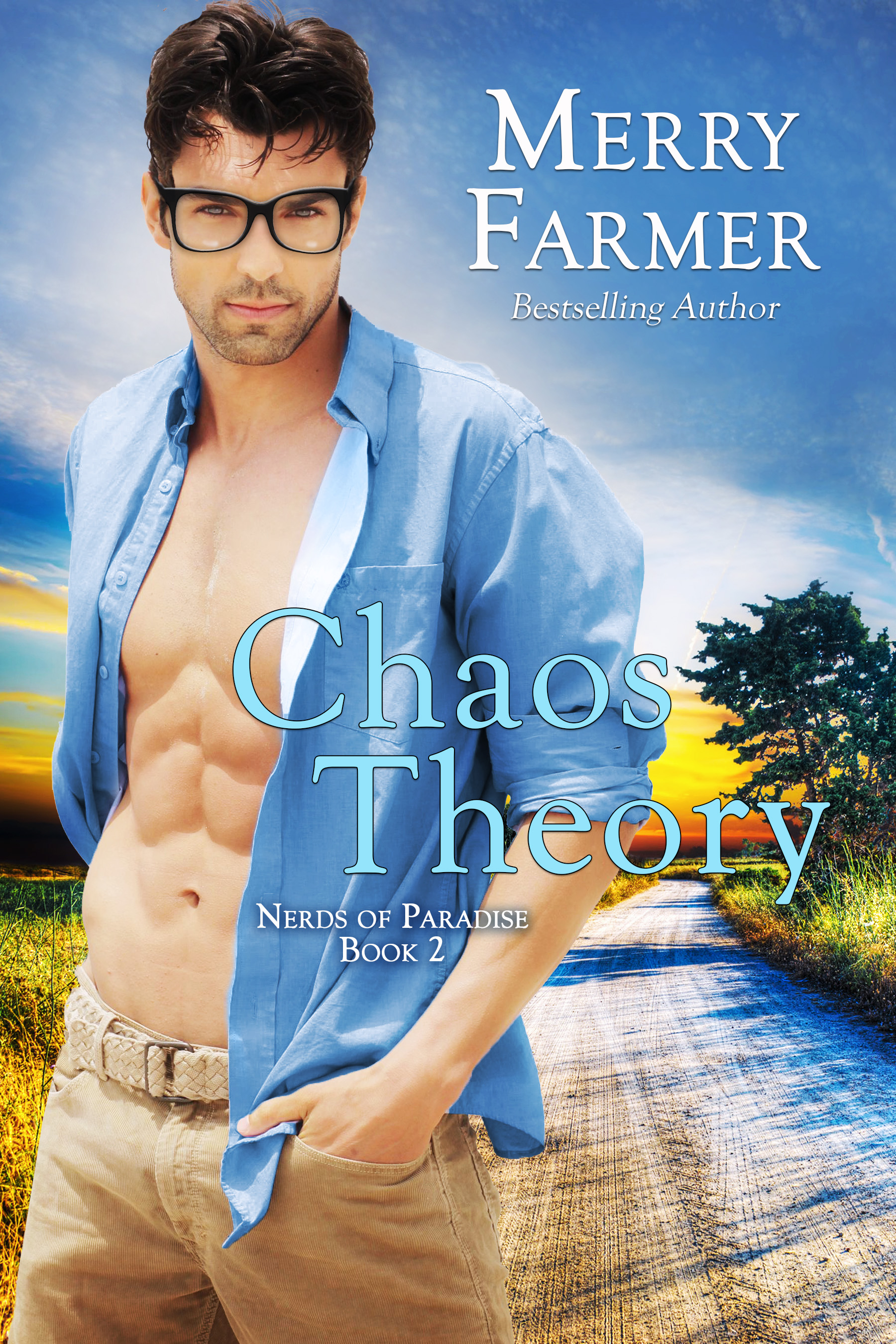 Chaos Theory (Book 2) - Melody Clutterbuck has her eyes on the prize, and that prize is handsome, uptight engineer, Will Darling. As part-owner of the local flower shop, people expect her notoriously sunny disposition and esoteric way of doing things to shine, but when the town gets wrapped up in an orienteering competition, Melody's competitive nature comes out. She plans to win both the wilderness event and the man, and nothing will get in her way. Not even Wil himself.Will Darling is nothing if not a fierce competitor. He is focused, determined, and driven. So when he finds himself falling for Melody and her chaotic, flighty, sexy ways, it seriously threatens his regimented world. And when they're paired together for the orienteering competition and dropped into the middle of the Shoshone National Forest alone, more than one kind of sparks fly.Can Will hold onto his organized world or will the fire between him and Melody take over and spread chaos in its wake?PLEASE BE ADVISED: Steam Level – Very Hot