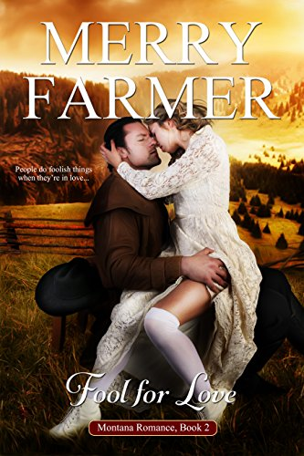 Fool for Love (Book 2) - She was at the end of her rope, looking for a final chance…Amelia Elphick may have been born a London lady, but when her lover leaves her pregnant and desperate, the only hope for her and her secret baby comes in the form of rugged Montana cowboy, Eric Quinlan. All she has to do to start a new life in the American West is pretend to be his bride.He must save his ranch before time runs out…It doesn't take Eric Quinlan long to discover the key to saving his home and his heart lie in Amelia's hands. She's everything he wants in a woman. She may be his fake wife, but the passion between them is sizzlingly real. Can he convince her to stay or will he lose it all forever?People do foolish things when they're in love….STEAM LEVEL: Very Hot