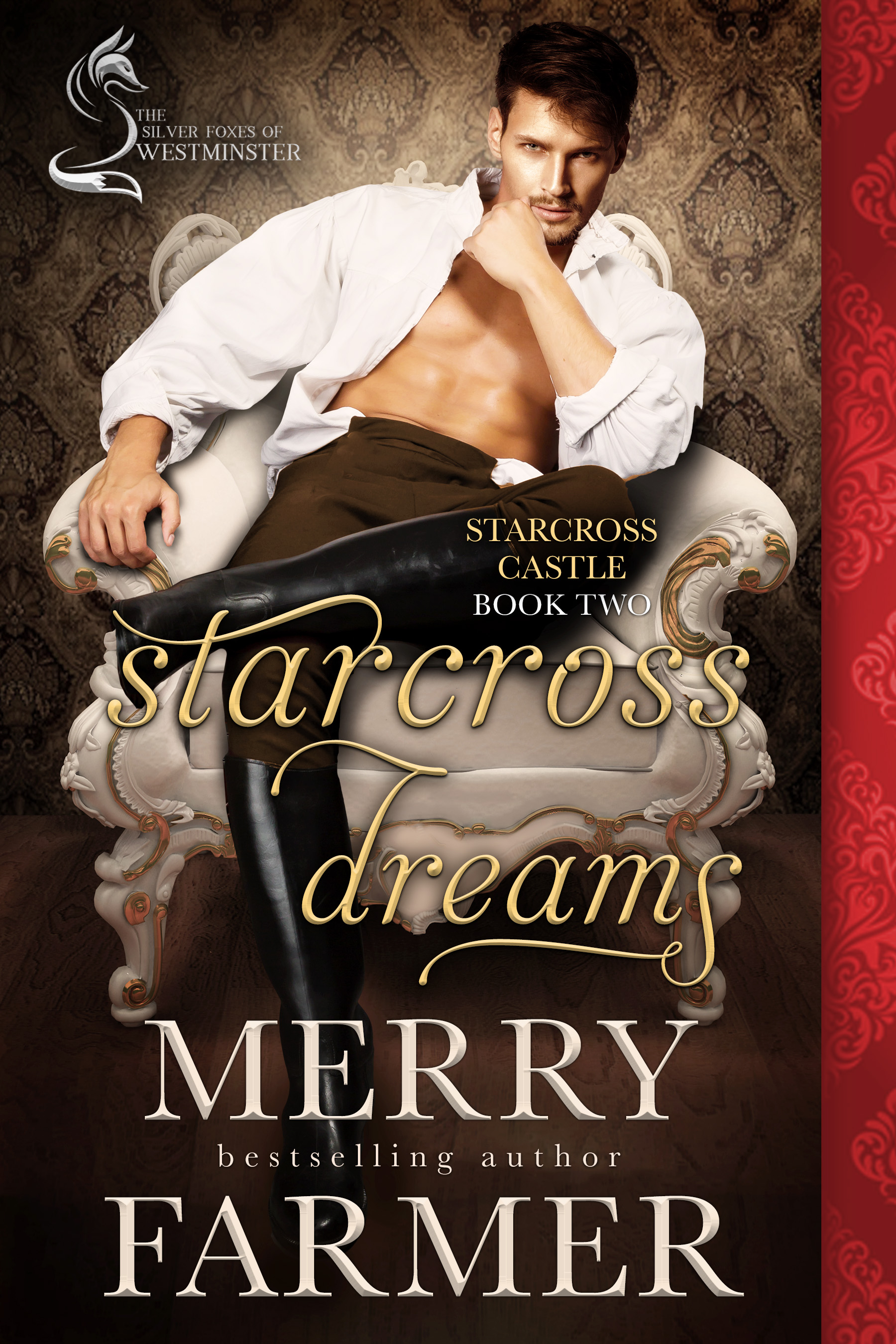 Starcross Dreams (Starcross Castle Book Two) - In spite of the prestigious position she has earned as a member of the staff of Starcross Castle, maid Poppy Miller knows that service is not her destiny. She was born to be a wife and mother, and when she looks at Starcross's head gardener, Nick Parsons, she knows exactly whose wife she wants to be.Nick is charmed and delighted by Poppy. Her sweetness, coupled with her clumsy ways and flightiness, warm his heart, and every time he holds her in his arms as he picks her up from yet another spill, he wants to keep her there forever. All he dreams about at night is her kiss.But the course of true love never runs smoothly. When a promise Nick made before he met Poppy comes back to haunt him, not even true love can overcome the hurdles in Nick and Poppy's way. Poppy must stand up for herself and take risks she would never have dreamed of to save the man she loves from the grip of his past.This heartfelt tale of love below-stairs continues the story that started with DECEMBER HEART, the first book in The Silver Foxes of Westminster series.PLEASE BE ADVISED: Steam Level – Hot