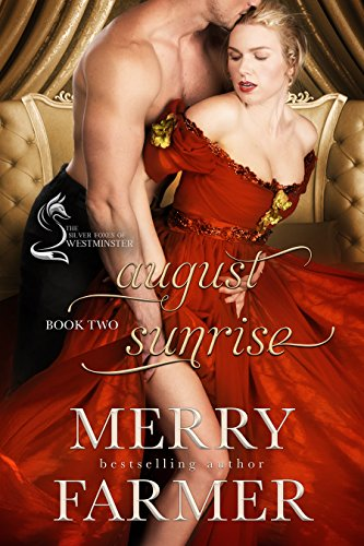 August Sunrise (Book Two) - Industrial heiress, Marigold Bellowes, knows that marriage is just another business transaction. She would, seeing as she's been pursued by greedy men who only want her father's fortune for years. But she's determined to take her fate into her own hands and not to be a prize in a merger. So when she meets rising star of Parliament, Alexander Croydon, she sees a merger that would benefit them both instead of turning her into a useless ornament.But Alex carries secrets that shield a broken heart. He finds Marigold clever and vivacious, dazzling at social events and sensual in bed, but he will not let himself get too close to her. Until a bitter twist of fate exposes James, Alex's illegitimate son, and potentially the only heir he will ever have.When revealing James as Alex's heir makes the toddler a target for Alex's enemies, Marigold and Alex must let go of their heartache to come together to save him. In the process, they discover a camaraderie that could lead to the love both have craved, a love that has been under their noses all along. But has it come too late, and is it enough?PLEASE BE ADVISED – Steam Level: Very HotBe sure to check out A PLACE TO BELONG, part of the West Meets East series, a prequel to August Sunrise which tells the story of little James's birth.