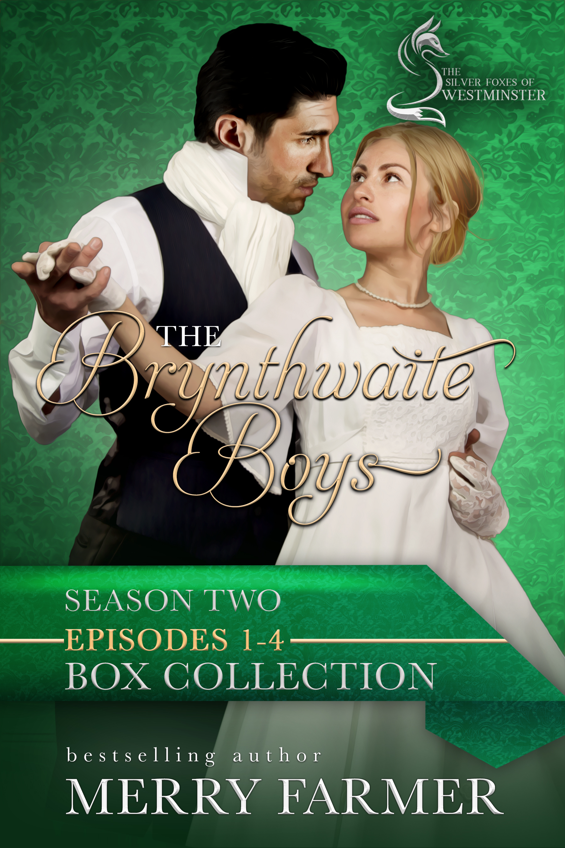 The Brynthwaite BoysSeason Two: Episodes 1-4 - Episode One – A New Day:Jason and Flossie attempt to navigate their deal with the Devil…also known as Lady Elizabeth Dyson, who proves to be more of a challenge than they expected. Lawrence has his hands full as Matty's troubled siblings turn his life upside down. Marshall gets what he's wanted all along, but will he and Alexandra have second thoughts?Episode Two – A String of Consequences:Marshall and Alexandra attempt to navigate their new life, but is their unfortunate patient, Winnie, as innocent as she seems? A chance encounter with a band of Romani leaves Lawrence questioning everything he knows about his past…and could give him the answers he's always craved. Lady E continues her shenanigans, but will her demands drive Jason back to his old ways, or can Flossie redeem him before it's too late?Episode Three – A Happy Discovery:Jason and Flossie are overjoyed when they receive the good news they've been hoping for, but how will Lady E feel about it? How will Alexandra cope when she receives the same news, and will it destroy her relationship with Marshall? Lawrence's anxiety about money take a backseat as news of a murder reaches him and Matty.Episode Four – A Parting of Ways:The Christmas season brings more worry than joy as Marshall and Jason prepare to depart for London. Flossie receives a letter that may mean more trouble in the New Year. Alexandra too receives a letter that could change everything, including her heart. Matty and Lawrence discover, to their horror, that they aren't as safe from the past as they hoped they were.PLEASE BE ADVISED: Some episodes contain steamy, steamy content!