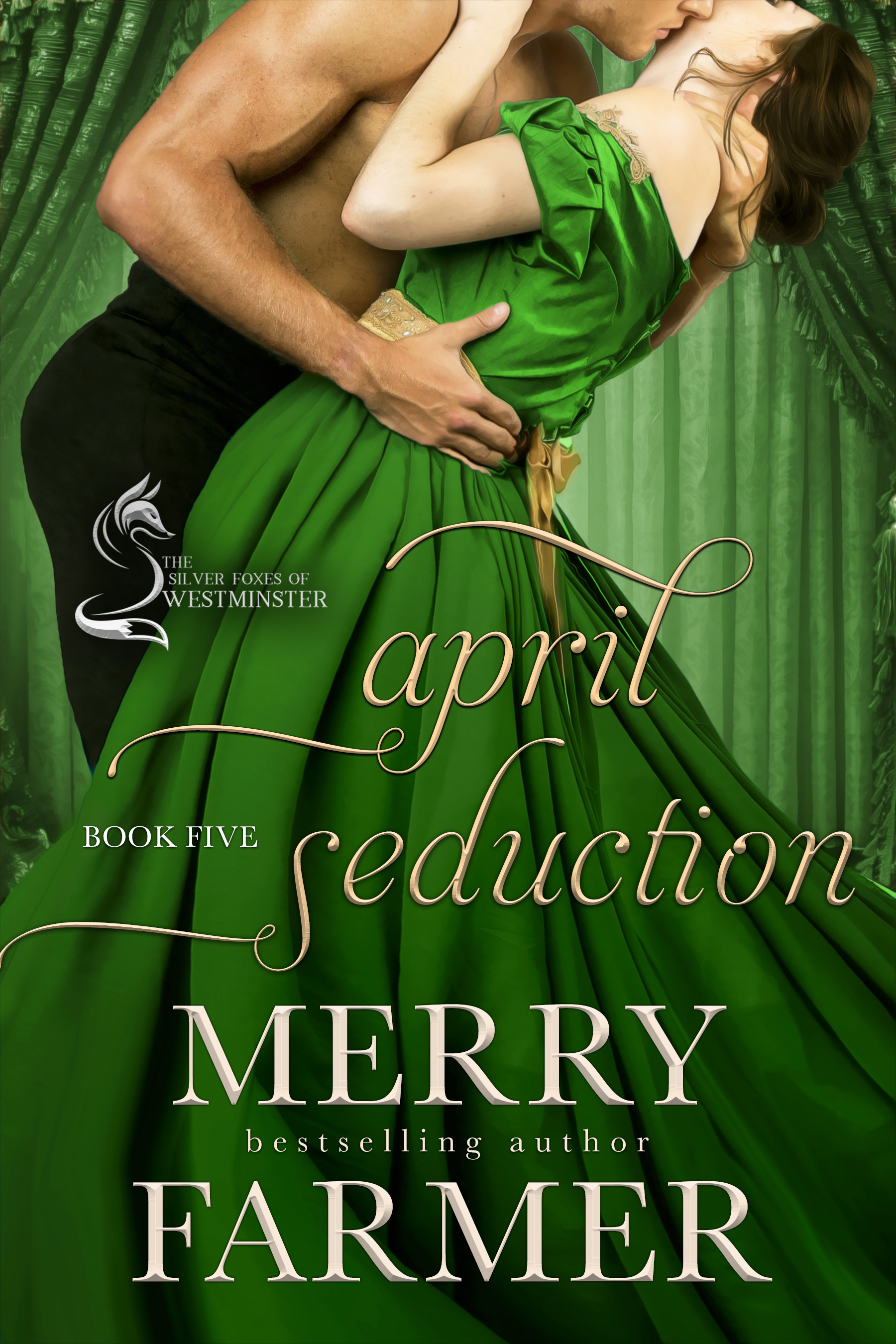 April Seduction (Book Five) - Theirs was a love that defied the rules, sizzled with passion…then fell apart spectacularly….Katya Marlowe, the Countess of Stanhope, was forced into a loveless marriage when she was only eighteen, became a mother of three before she was twenty-three, and a widow by the age of twenty-four, and before she hit thirty, she developed a reputation as a siren and a woman of power. But as clever and seductive as she has been painted to be, her heart has only belonged to one man.Malcolm Campbell has been a fighter his whole life, willing to go to extreme lengths to support the causes he believes in. Ruthless, arrogant, and ferocious, he has dedicated his life to eradicating anyone who harms women, particularly the villainous Lord Shayles. But for all his fight, his heart aches for the one woman who he has never been able to secure, Katya.When Katya and Malcolm team up in a final campaign to bring down Shayles for good, old passions and old wounds bleed to the surface. But can they keep their burning desire for each other in check? Can they put their differences aside long enough to work together, or will the fire of everything that has smoldered between them for nearly twenty years consume them? Will they learn to forgive the stings of the past and come together at last?PLEASE BE ADVISED: Steam Level – Very Hot