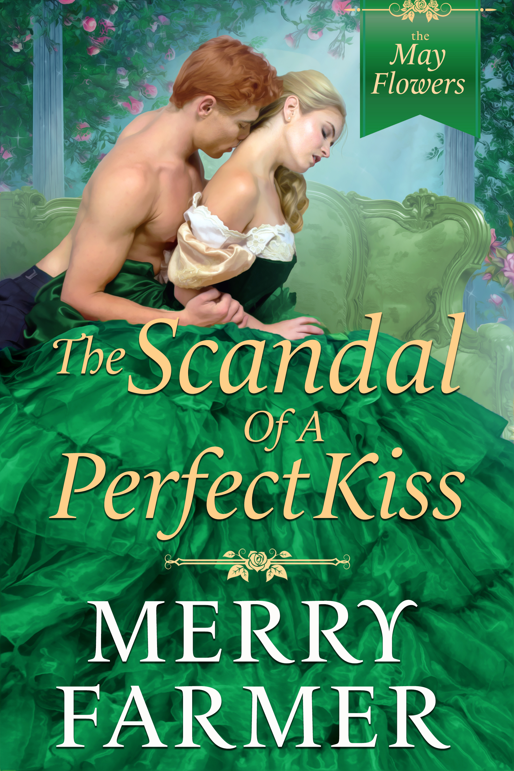 The Scandal of a Perfect Kiss (Book Three) - She doesn't have time to fall in love….Lady Henrietta Hopewell, the widowed Marchioness of Tavistock, is one of the most powerful women in London. As the leader of the most prestigious ladies' club in town, The May Flowers, she holds the course of British politics in the palm of her hand, all while raising her beloved son, Ricky, the current Marquess of Tavistock. Offers of marriage fly her way at every turn, but Henrietta's heart belongs to only one man.He doesn't have the heart for romance….After a vicious attack just over a year before, Lord Fergus O'Shea is struggling to become half the man he once was. Confined to a wheelchair, dependent on his friends for a home in London, he can think of only one thing—bringing Lord Charles Denbigh, the man behind his attack, to justice. But even as Fergus closes in on Denbigh, every fiber of his being longs for the one thing he knows he can never have, Henrietta.Henrietta is unwilling to be held at arm's length, though, and sets out to prove to Fergus that he is more than man enough to satisfy her on every level. But when the scandal of their intensifying relationship puts Henrietta in danger of losing her son, she must choose between the two people who share her heart. And when Lord Denbigh turns out to be the wedge keeping Fergus and Henrietta apart, Fergus must summon up the strength he thinks he's lost and overcome his physical disabilities to show Henrietta, Denbigh, and the world that true strength comes from the heart.PLEASE BE ADVISED: Steam level – very spicy!