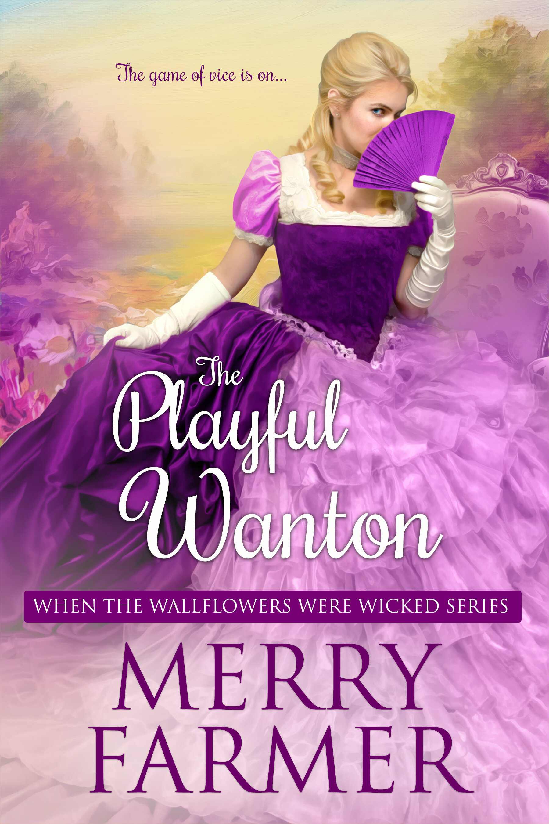 The Playful Wanton (Book Eight) - The game of vice is on….Lady Eliza Towers is as mischievous as a lady can be and more so. She has been sent to the Hadnall Heath house party to find a respectable husband, but she has other plans. Plans in the form of seducing handsome, stoic Bow Street Runner, Mr. Adolphus Gibbon. When the house party guests are invited to participate in a scandalous treasure hunt, she sees her perfect opportunity.Adolphus Gibbon has come to the house party for one reason only—to bring one of the guests who has committed a crime to justice. NOT to enjoy himself. But he cannot resist the sinful allure of Lady Eliza. When business and pleasure collide as he discovers the man he is hunting has a painful connection to Eliza, his manhunt becomes a personal vendetta. And when the star witness disappears, he and Eliza find themselves searching for more than they bargained for.A light-hearted, fun, SUPER steamy, Regency romp—a quick read, not to be taken too seriously.PLEASE BE ADVISED – Steam Level: Five-Alarm Fire with a few F-bombs. Don't say you weren't warned.