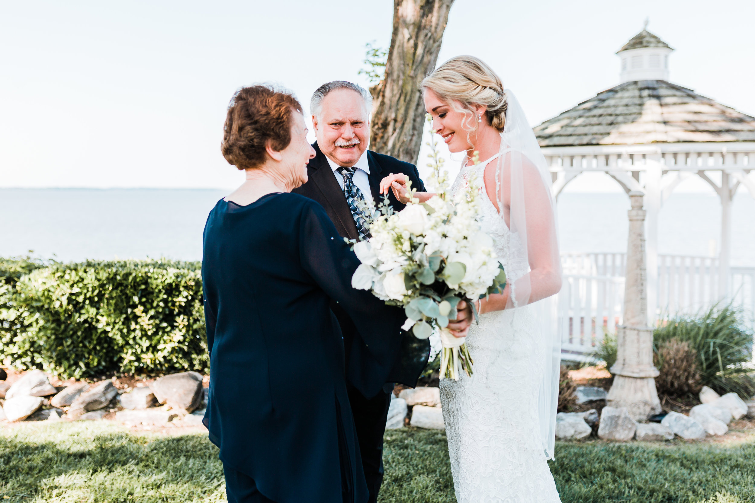 first look at celebrations at the bay - md wedding photo and video / film