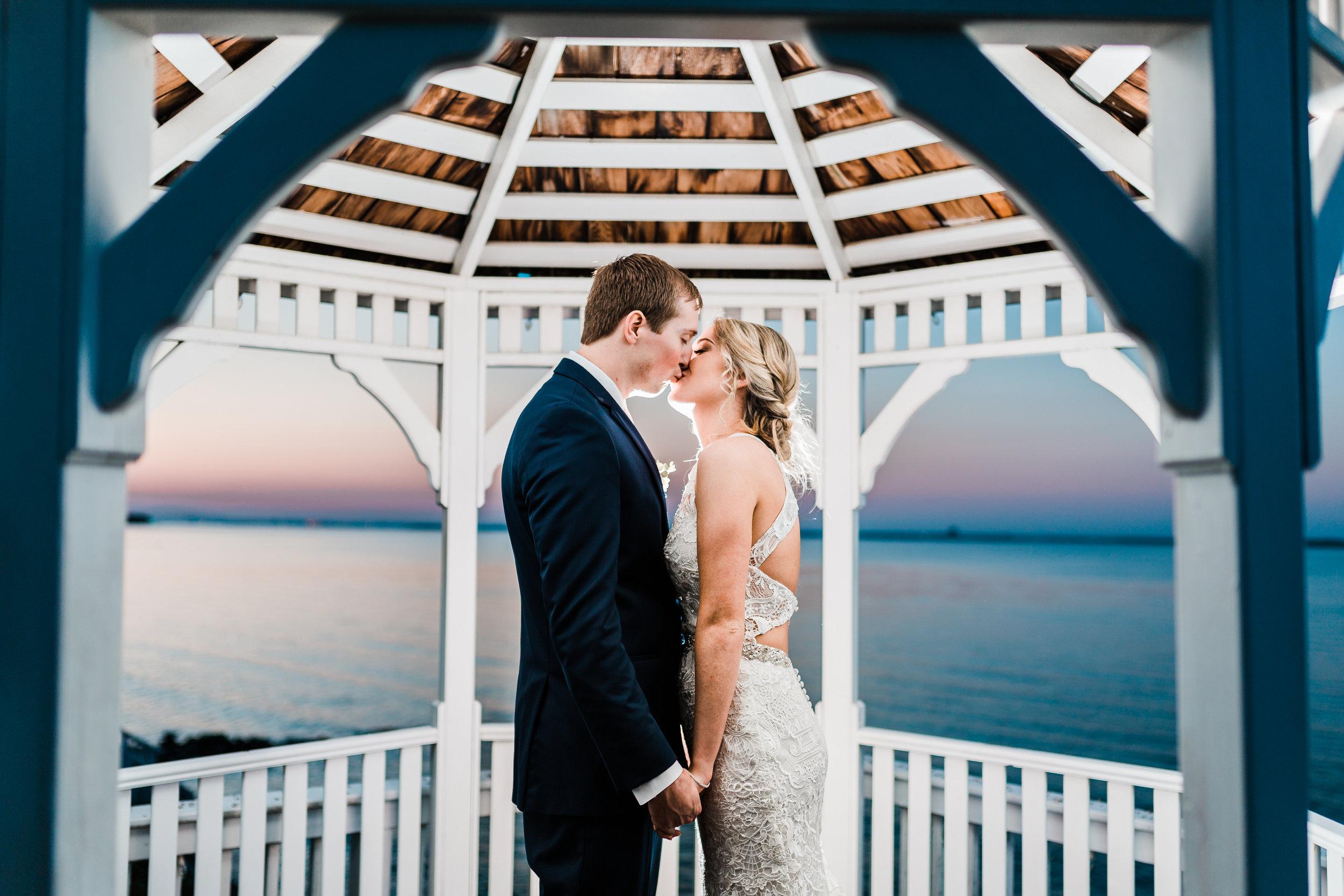 night wedding photography - maryland
