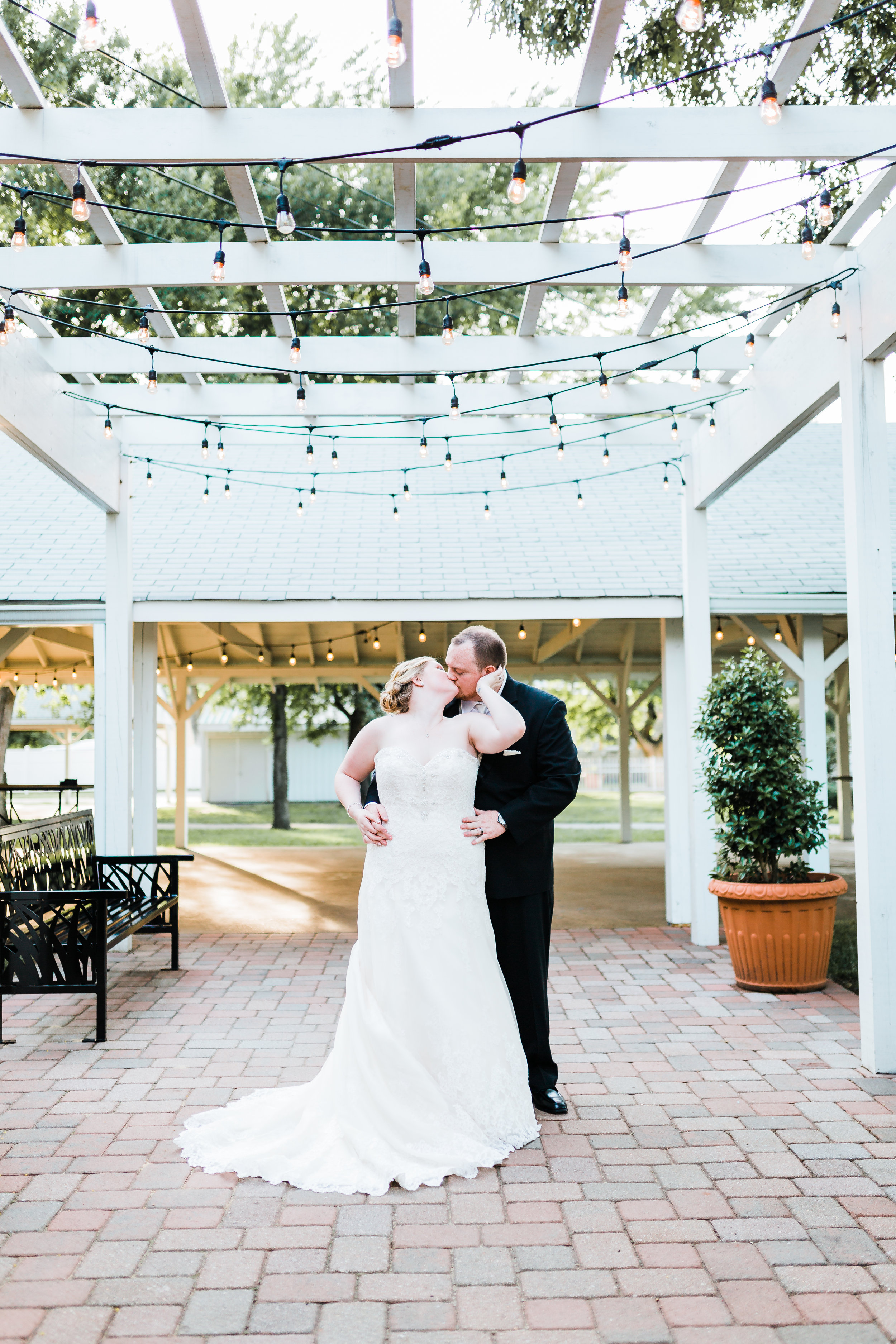 romantic portraits of bride and groom - waterfront maryland wedding venue