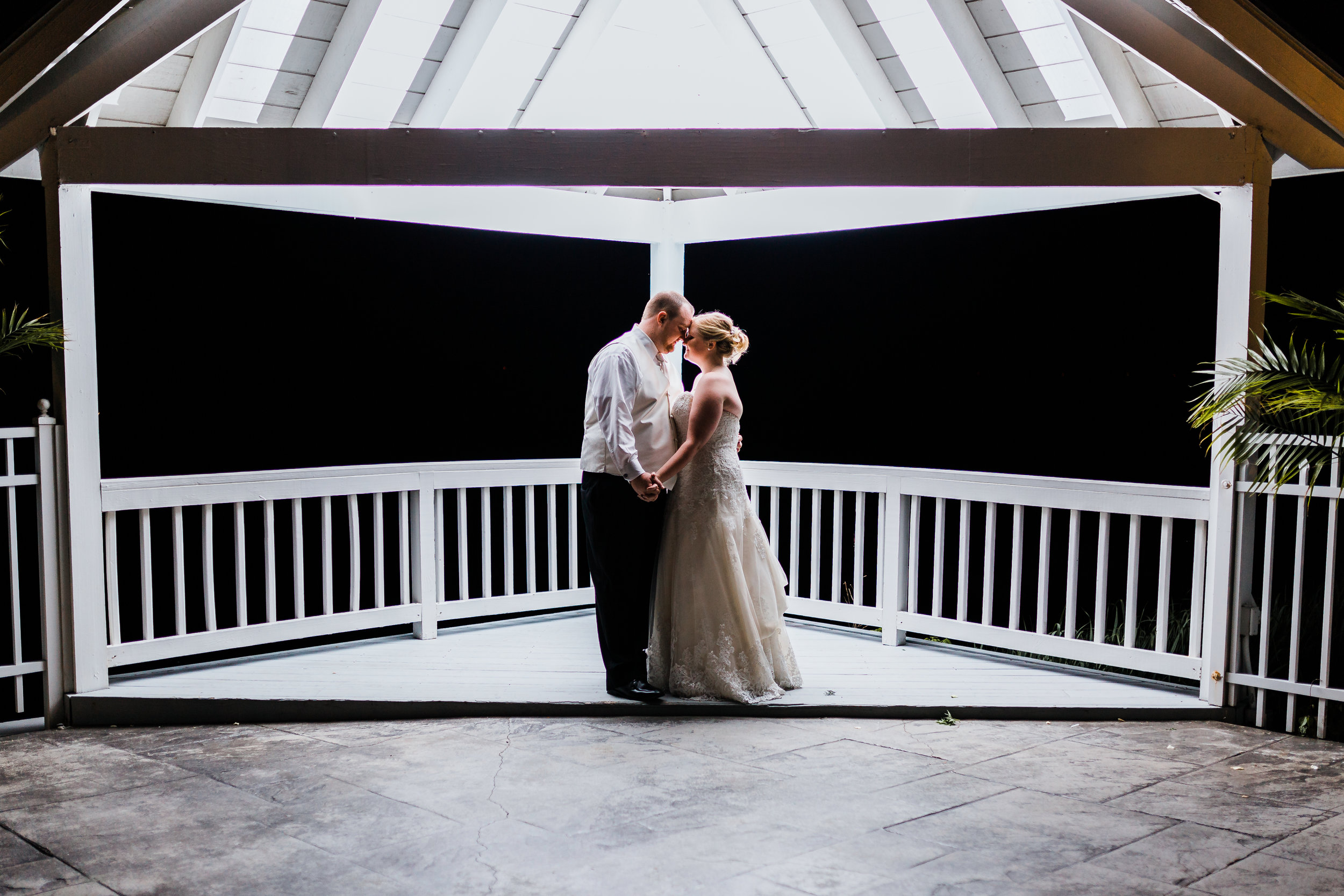 night photography - maryland bayside wedding - md waterfront wedding venue - best maryland wedding photographer