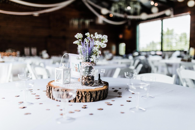 wedding reception centerpiece inspiration - diy wedding - maryland wedding photographer