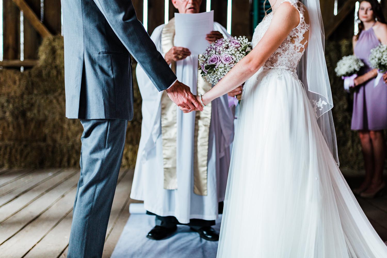 wedding ceremony details - maryland wedding