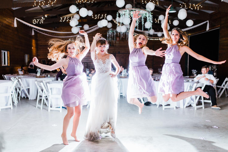 fun photos with bridesmaids - night photos - md photographer