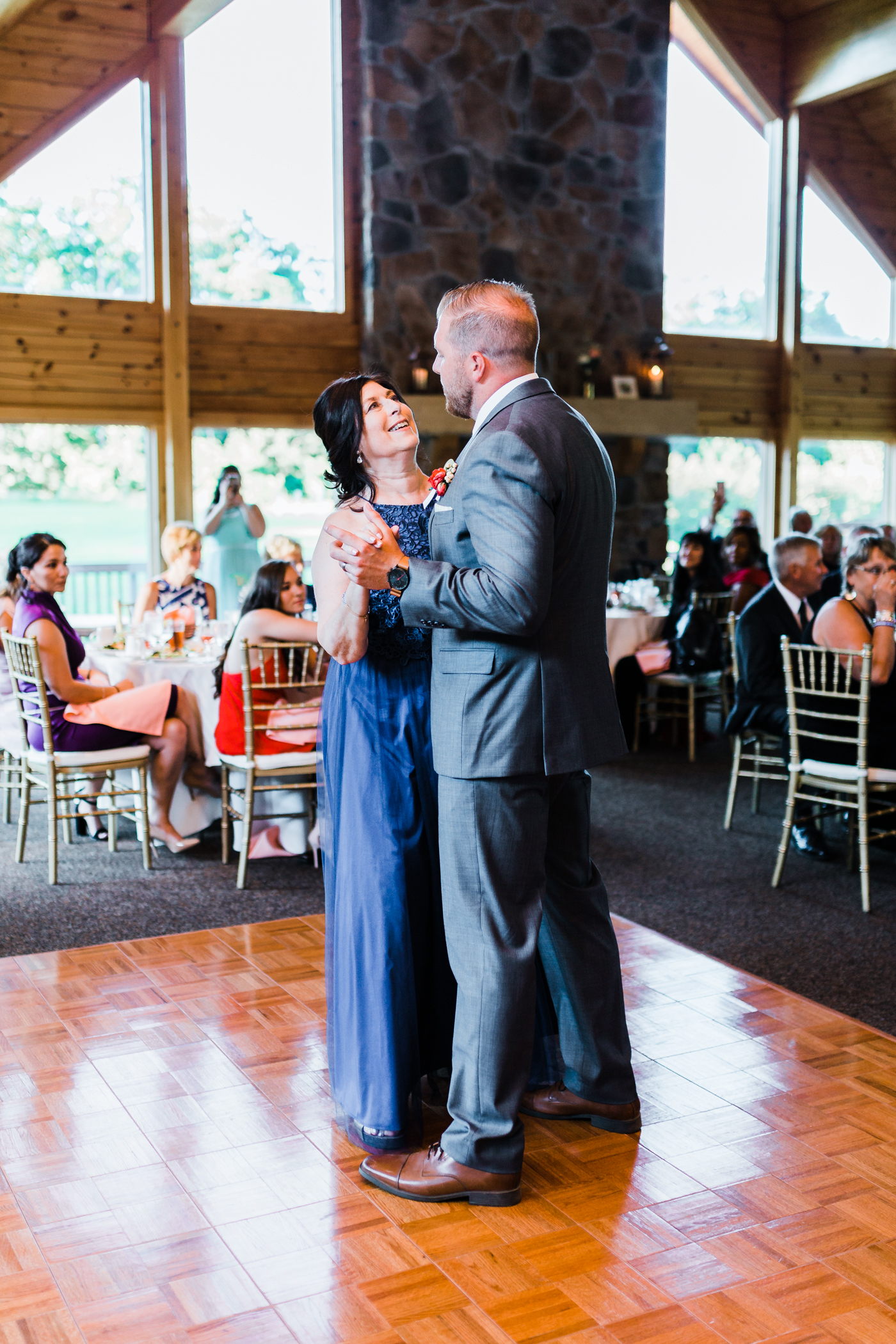 mother son dance - Liberty Mountain weddings