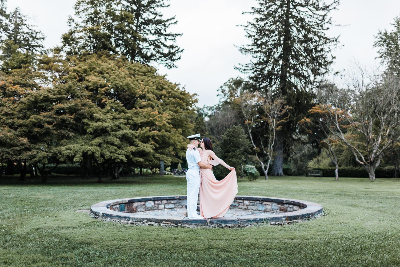 cylburn arboretum engagement session - maryland wedding photographer