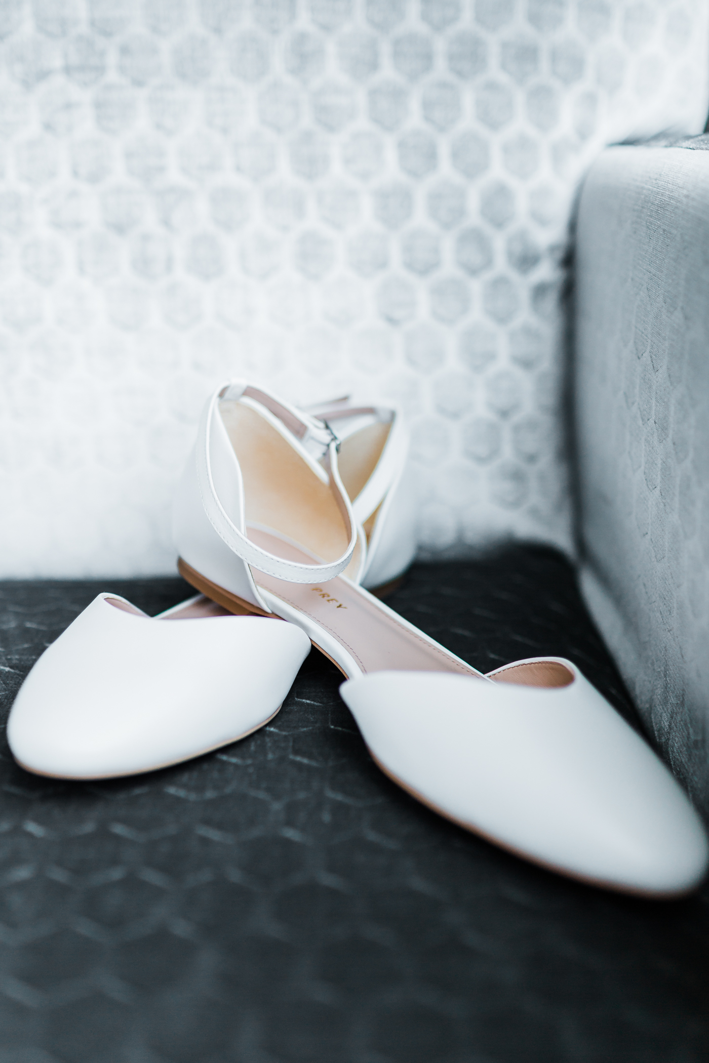 brides shoes - MD wedding Photographer and cinematographer