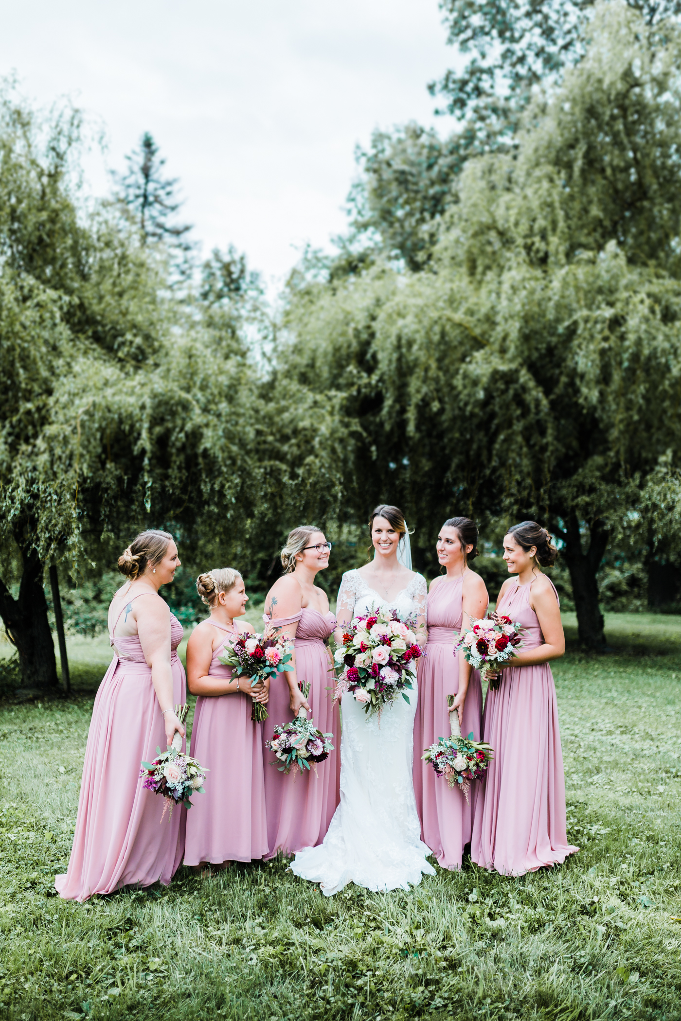 beautiful wedding colors in cascade, maryland - top rated md wedding photographer
