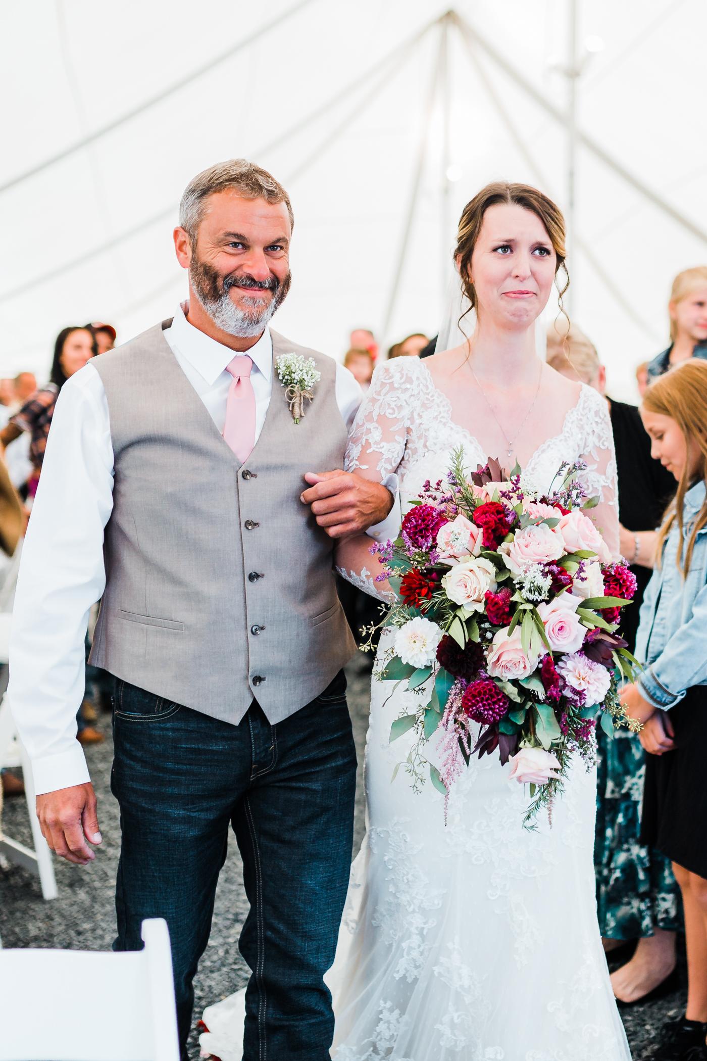 emotional maryland wedding photographer - candid Maryland wedding photo and video