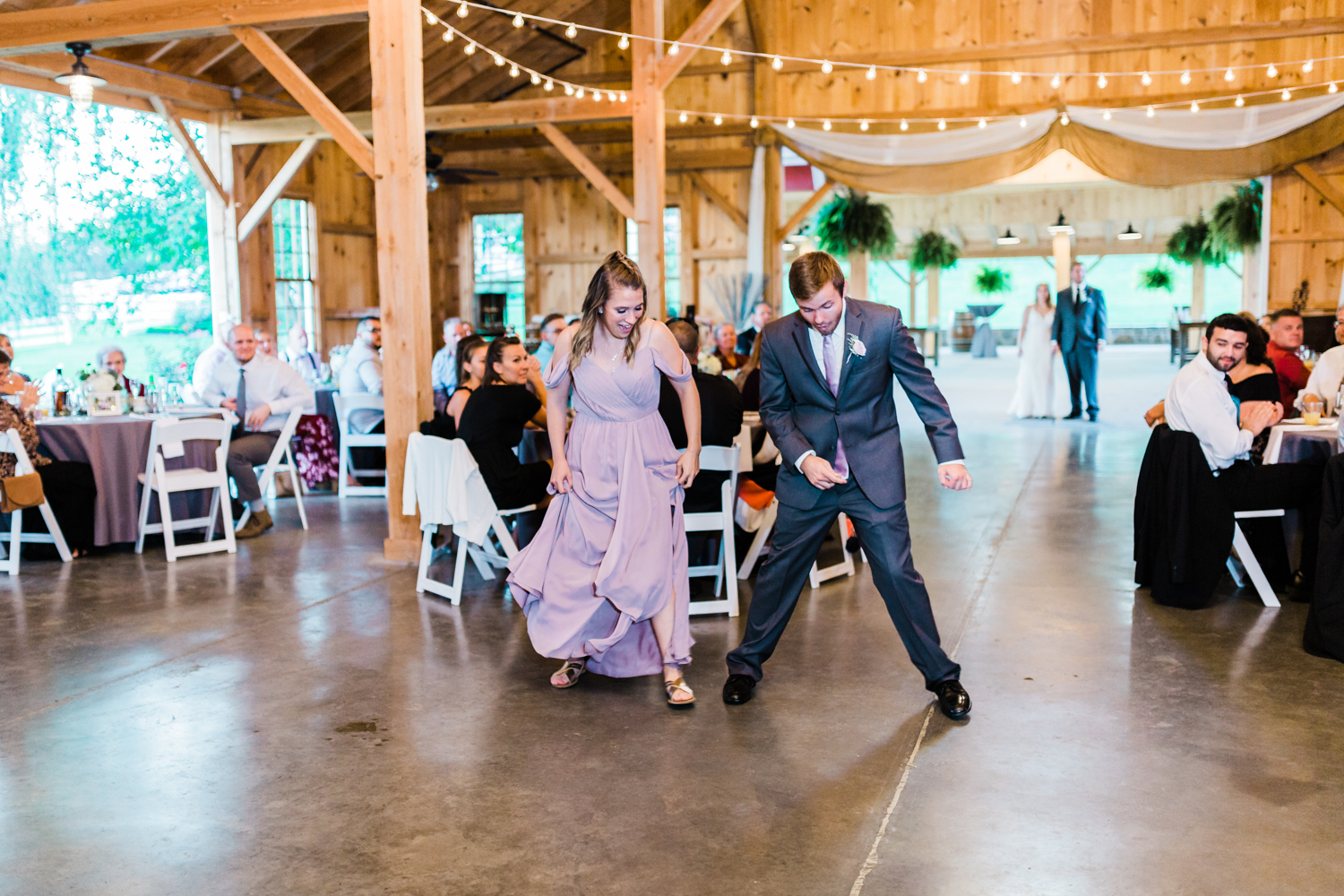 Bridal party sibling get introduced to reception - Top rated MD photographer