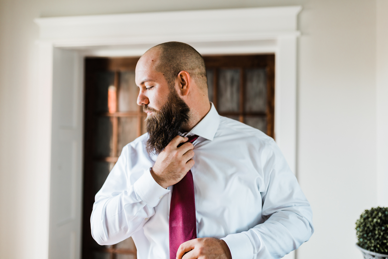 Groom getting ready - best photo video in MD