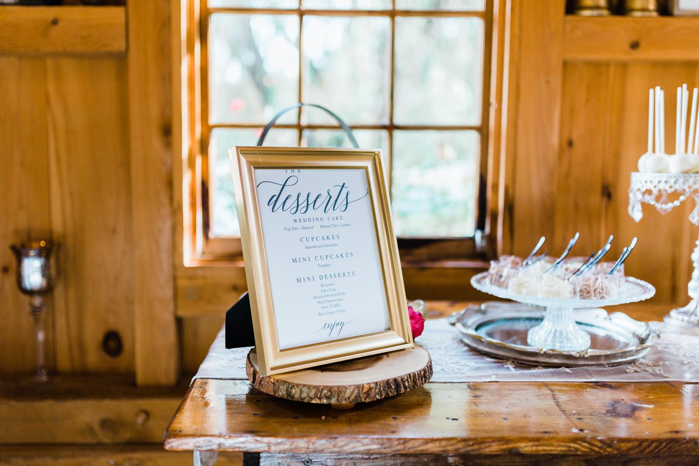 maryland wedding dessert bar - summer wedding ideas in MD