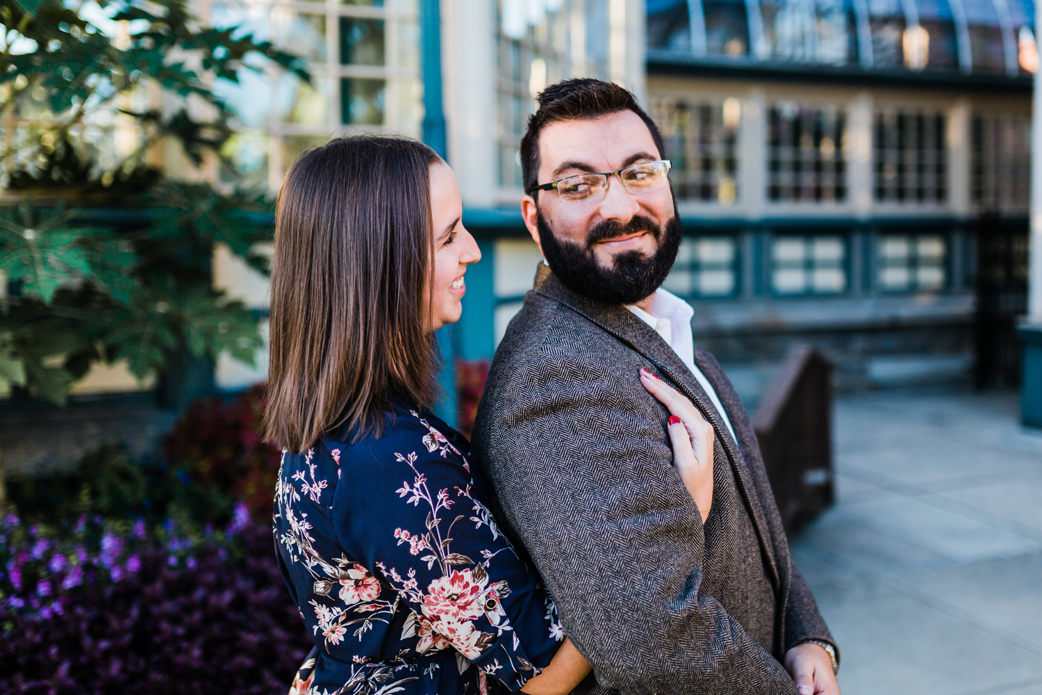 romantic engagement session in Baltimore MD - candid photographer in Maryland