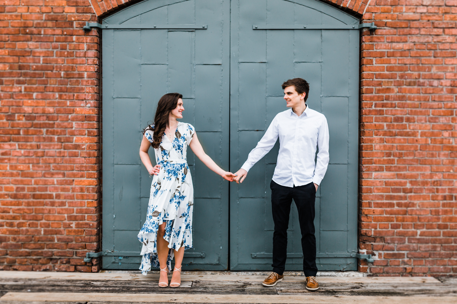 best spots in Fells Point for engagement photos - MD photo video husband and wife team