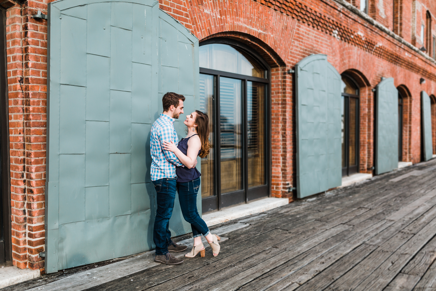 spring engagement inspiration in Baltimore, Maryland