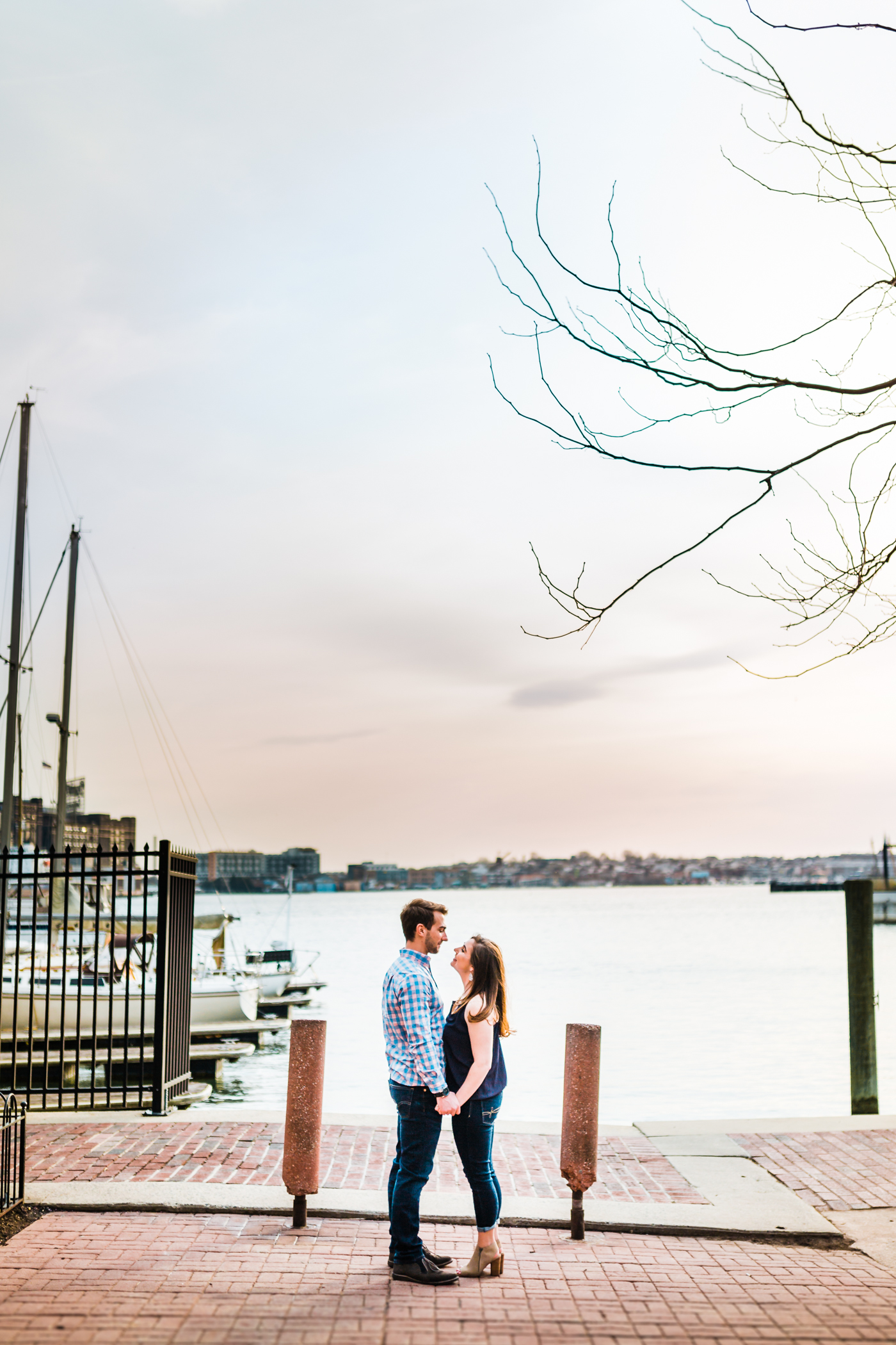 best spots in Baltimore for an engagement session