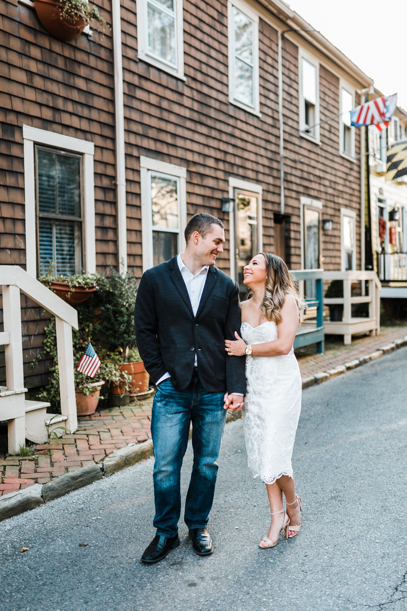 unique locations in Maryland for engagement photos