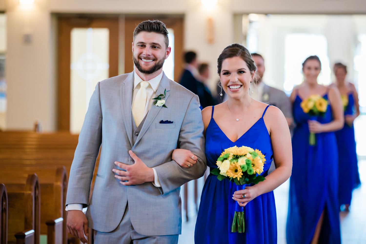 top rated wedding photographer in maryland - husband and wife photo video team